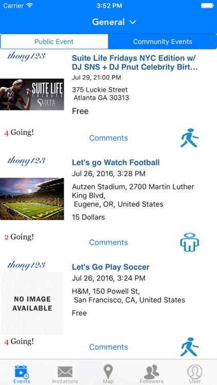 Meet Up Events screenshot-4