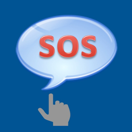 "SOS One Click - ""Send Emergency Alert and Help Messages through SMS Text, Email, Twitter and Facebook"" iOS App"