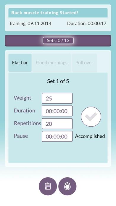 Training Plan Free - My personal training journal screenshot four