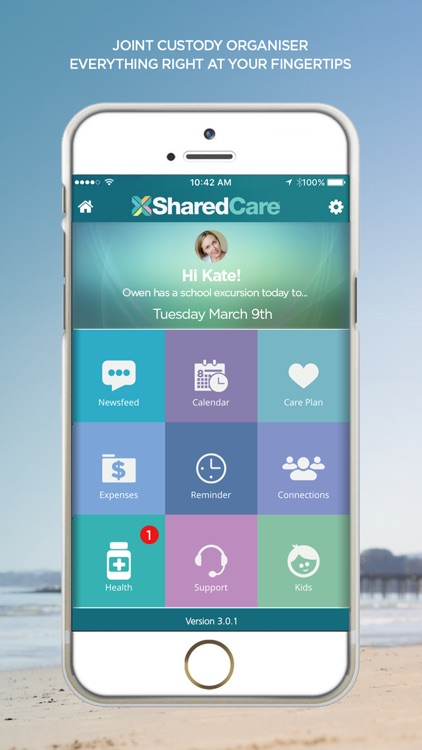 SharedCare - Joint Custody Organizer & Co-Parenting App