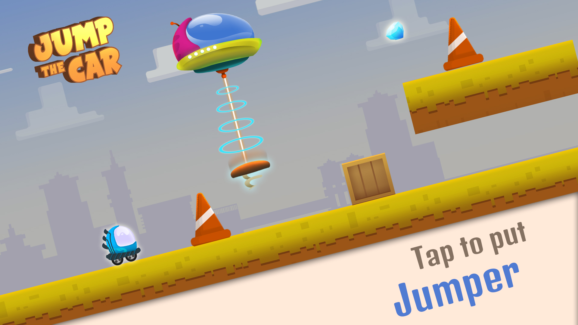 Jump the Car screenshot 13