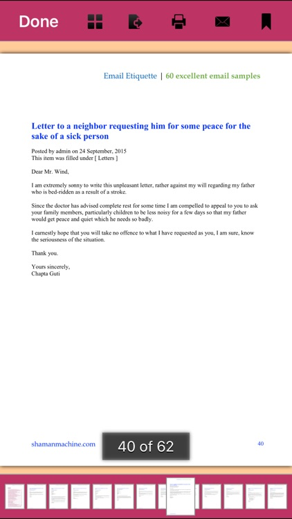 Email Etiquette - 60 Excellent Email Samples screenshot-1