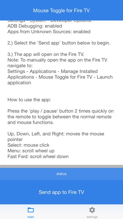 Mouse Toggle for Fire TV