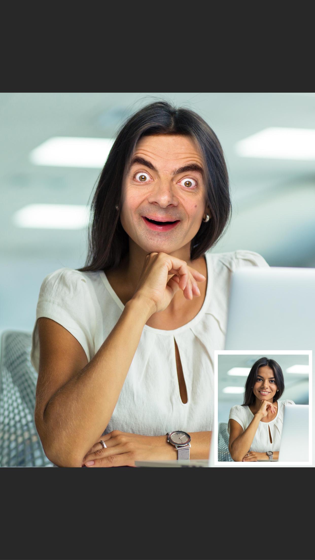 Faceover Lite: Photo Face Swap Screenshot