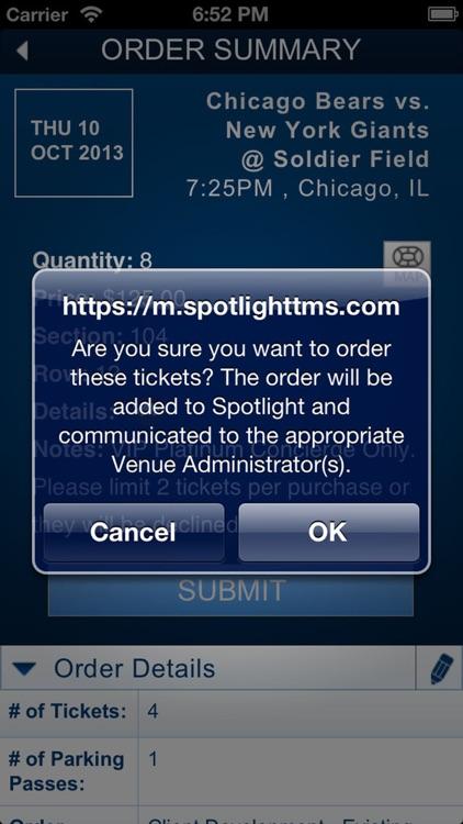 Spotlight TicketManager