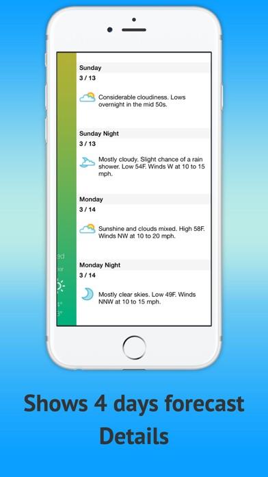 天氣預報,暴風雨屏幕截圖2