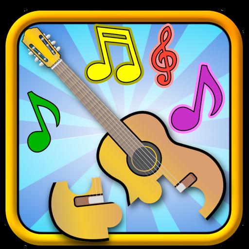 孩子们音乐拼图游戏-形状和匹配的儿童游戏适合幼儿和学龄前儿童 for Mac
