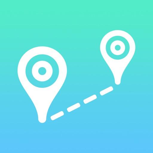 Air-Line - Distance measurement