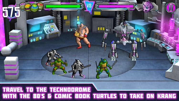 Teenage Mutant Ninja Turtles: Portal Power screenshot-4