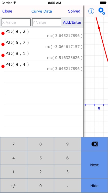 Curve Fitter Lite : graphing calculator made easy