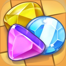 Gems World Match 3 Puzzle - Jewel Adventure Games
