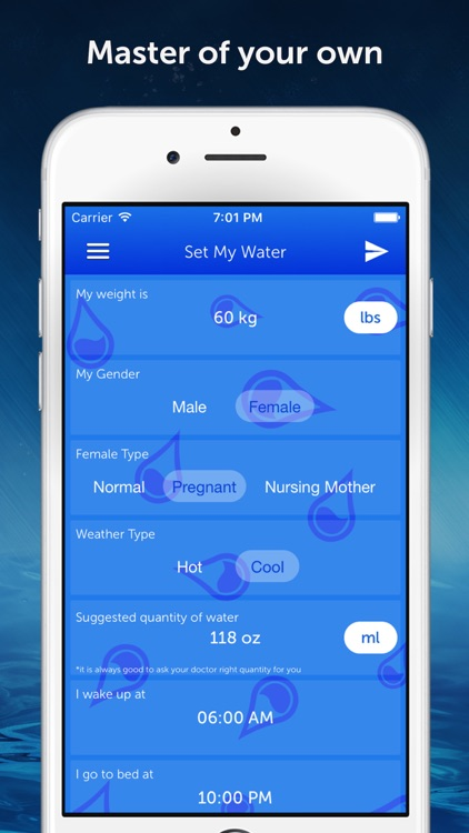 Drink Water Reminder Pro : Daily hydration tracker, monitor and counter manager