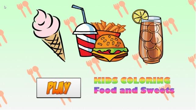 Mewarnai Anak Anak Makanan Di App Store