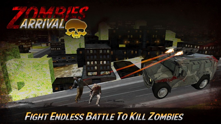 Zombie Arrivals : Clear the infected city from undeads screenshot-4