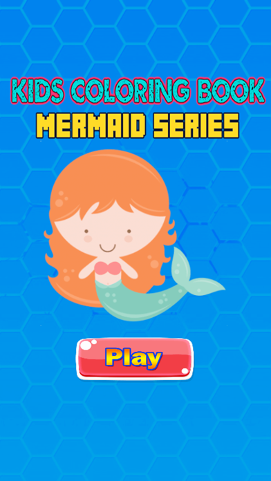 Mermaid Princess Coloring Pages Kids Painting Game