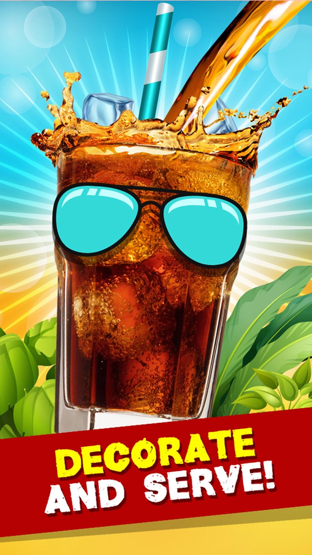 Soda Cola Salon - Frozen Drink Maker Game for Kids hack tool