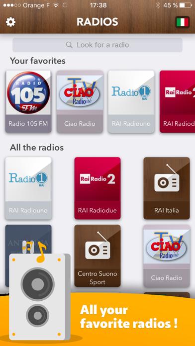 Italy Radio - access all Radios in Italia FREE!