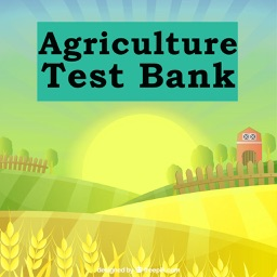 Agriculture Test Bank & Exam Review App :1300 Study Notes, flashcards, Concepts & Practice Quizzes
