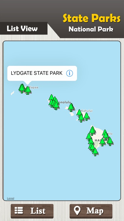 Hawaii Parks - State & National screenshot-1