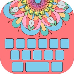 Flower Keyboard! - Beautiful Custom Keyboard Designs with Color.ful Backgrounds and Emoji.s