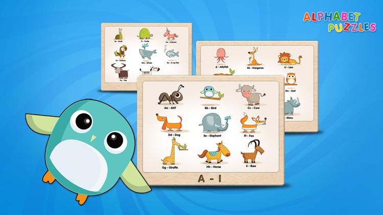 ABC Alphabet Puzzles for Kids screenshot-3