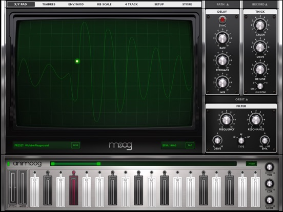 Screenshot #2 for Animoog