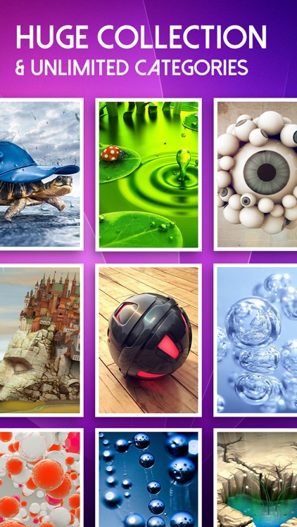 Amazing 3D Live Wallpapers & HD Backgrounds - 3D Images & Live Photos for Lock Screen Themes screenshot-3