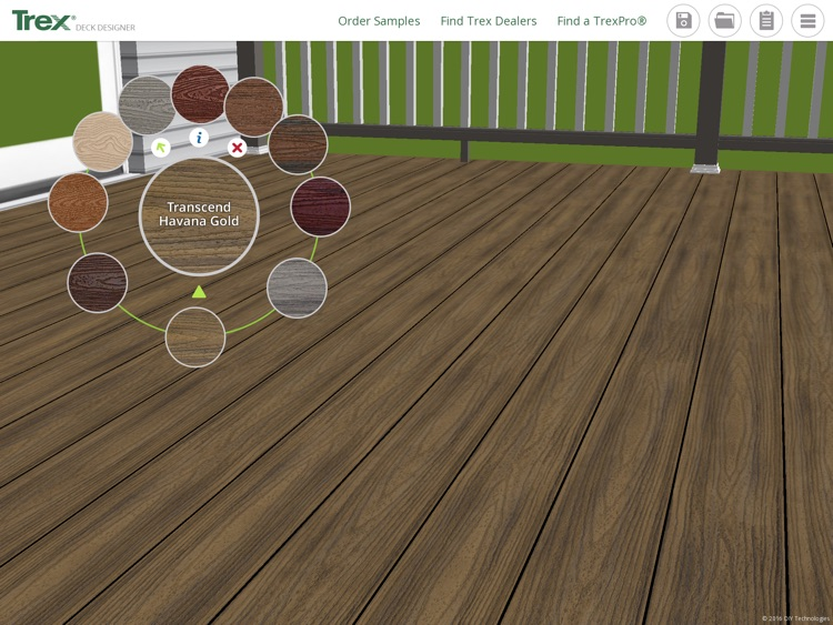 Trex Deck Designer App– Plan and create your Trex dream deck and outdoor living space! screenshot-0