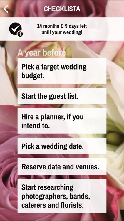 Wedding Planner Simple Edition screenshot-3