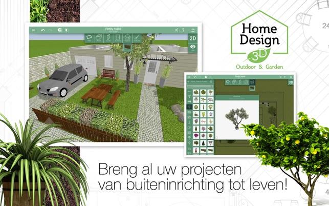 Home design 3d outdoor garden in de mac app store for Home garden 3d design