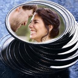Coin Photo Frame - Make Awesome Photo using beautiful Photo Frames