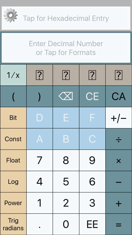 SciHex Calculator screenshot-0
