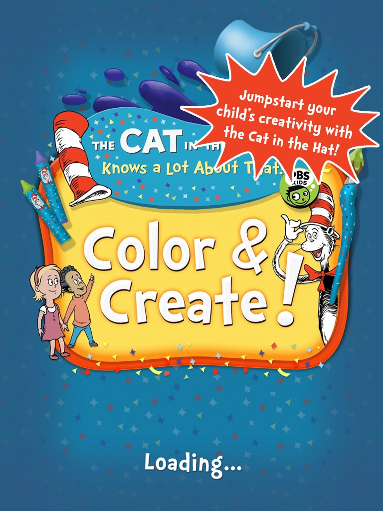 Dr  Seuss's The Cat in the Hat Color & Create! by Penguin Random