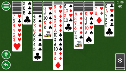 Spider Solitaire Classic Patience Game Free Edition by Kinetic Stars KSのおすすめ画像2