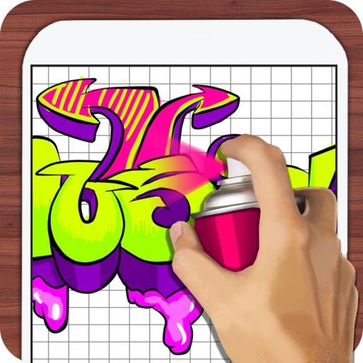 Рисование Уроки Граффити