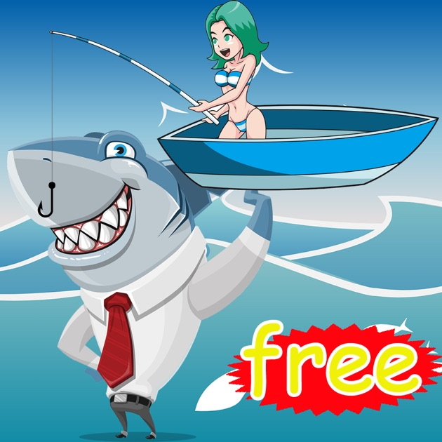 1 shark fishing games and sea animals for kids education for Shark fishing games