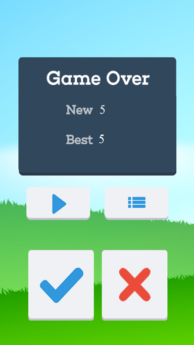 Quick Math - Train your Brain! A Freaking Math Puzzle Fast Game Free For Kid screenshot three