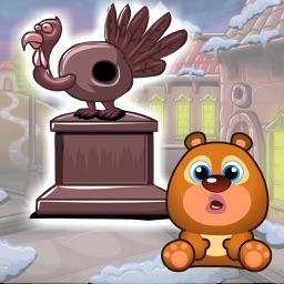 逗小熊开心之找火鸡 - 找你妹解谜游戏