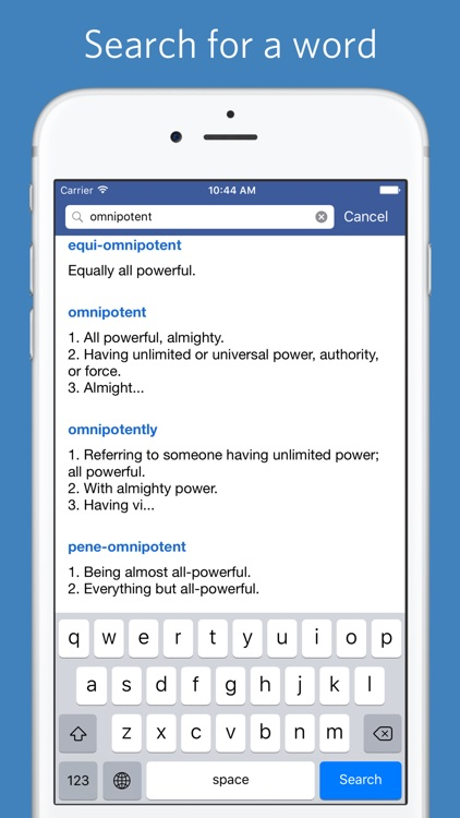 Classical Root Dictionary screenshot-2