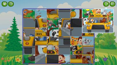 Animal & Zoo Jigsaw Cartoon Puzzle For Kids screenshot two