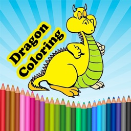 Dragon Coloring Book : Coloring Books for Kids & Adults