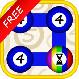 Numbers & Dots Free: A colourful connecting game