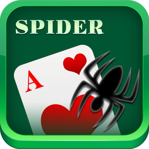Spider Solitaire iOS App