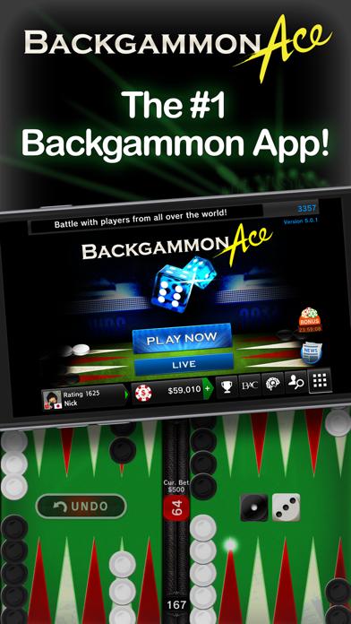 Backgammon Ace – Multiplayer Board Game & Dice screenshot one