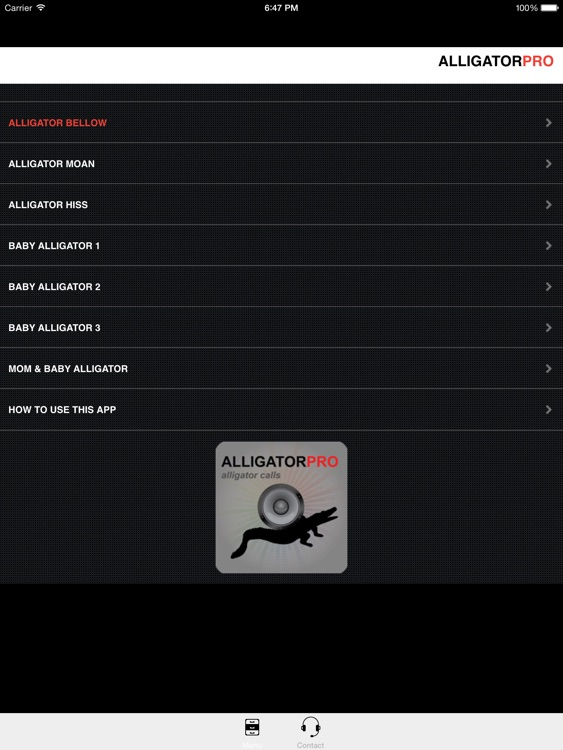 REAL Alligator Calls & Alligator Sounds (ad free) BLUETOOTH COMPATIBLE