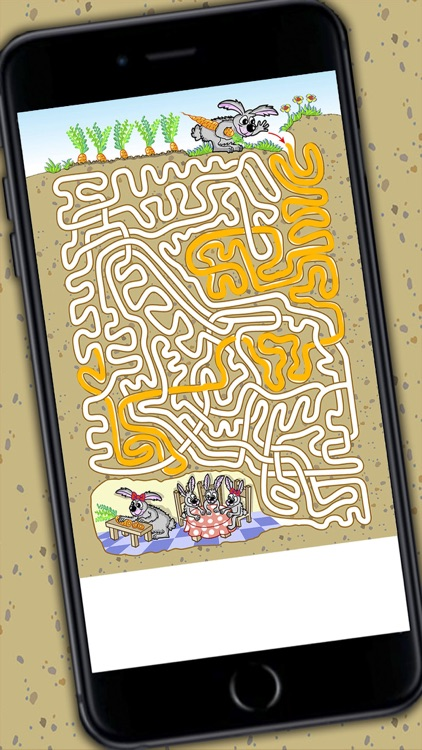 Mazes for kids - Puzzle game for children 3 to 8 years old screenshot-3