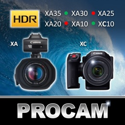 PROCAM for Canon XA Series and XC10