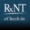 Electronically check-in patients with RxNT's Scheduler Check-in app for iPad devices, which is available at no additional cost to customers that have subscribed with RxNT|Scheduler