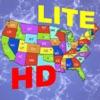advanced Puzzle Map Of USA HD Lite
