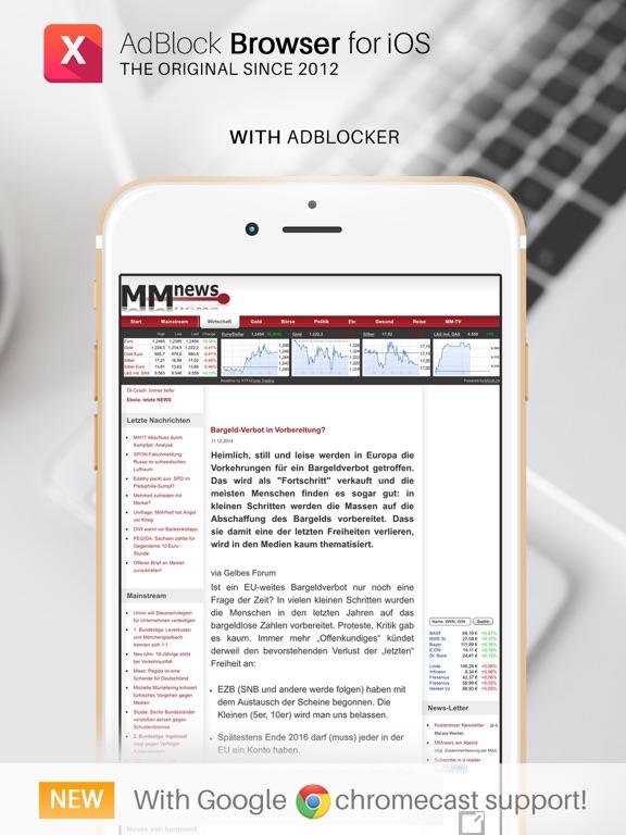 AdBlock Browser for Chromecast - Revenue & Download estimates